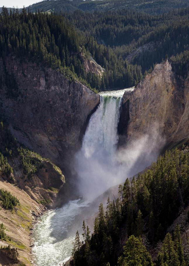 Lower Falls Art   Chad Wanstreet Inc