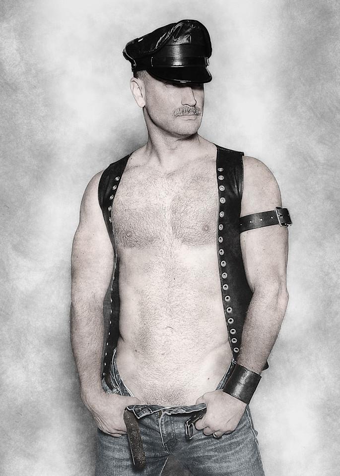 Leather Man Photography Art | Kristofer Reynolds Photography