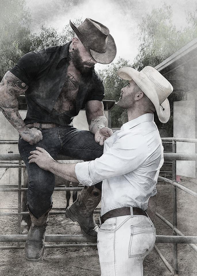Cowboy Love Photography Art   Kristofer Reynolds Photography