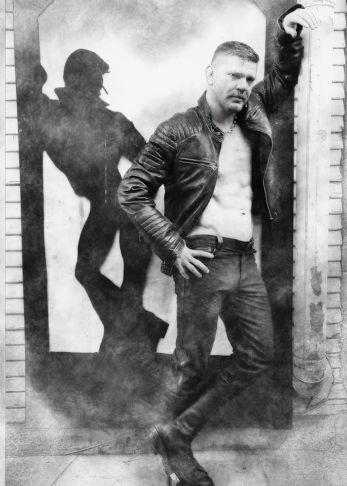 Leather Silhouette  Photography Art | Kristofer Reynolds Photography