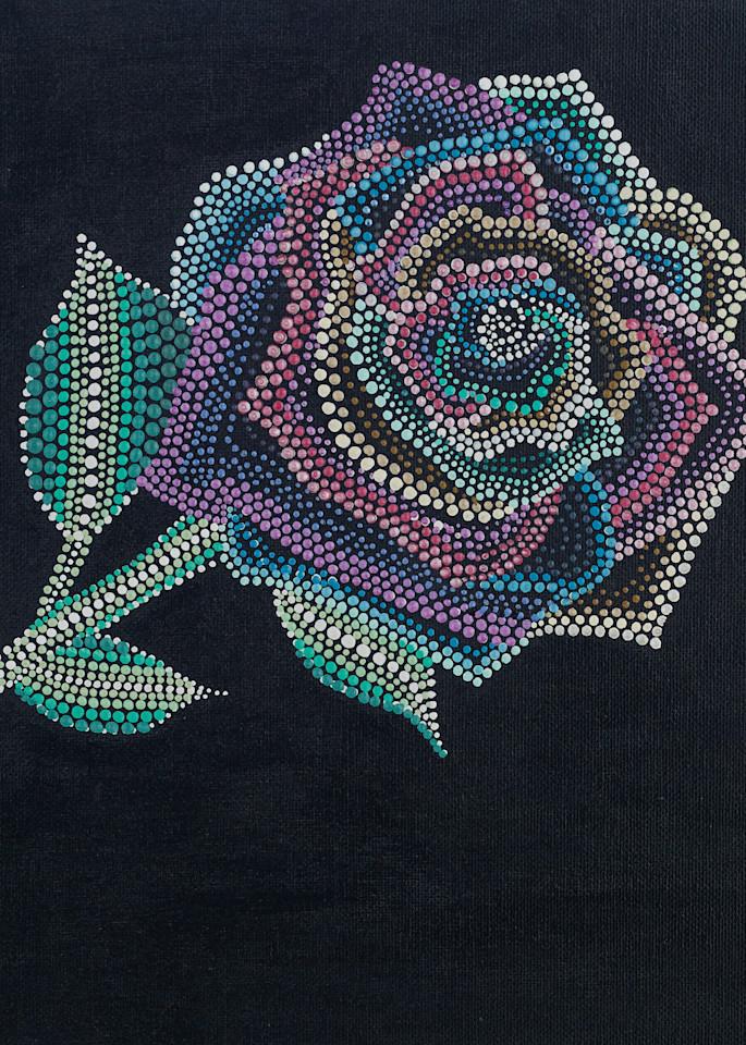 Incredible Rainbow Rose Print