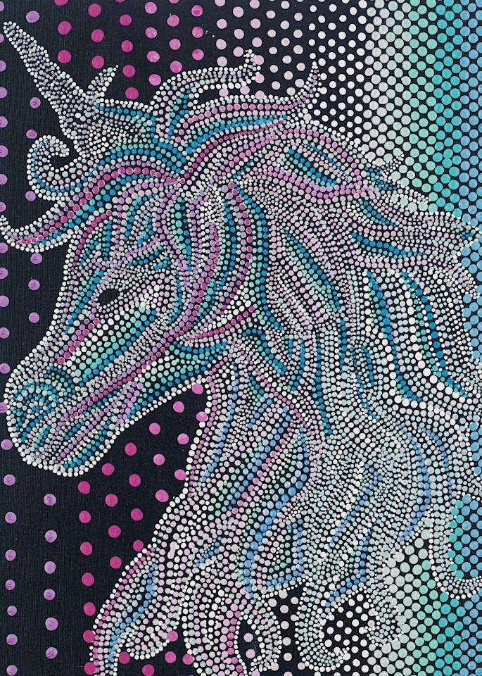 Mythical Unicorn Cute Print
