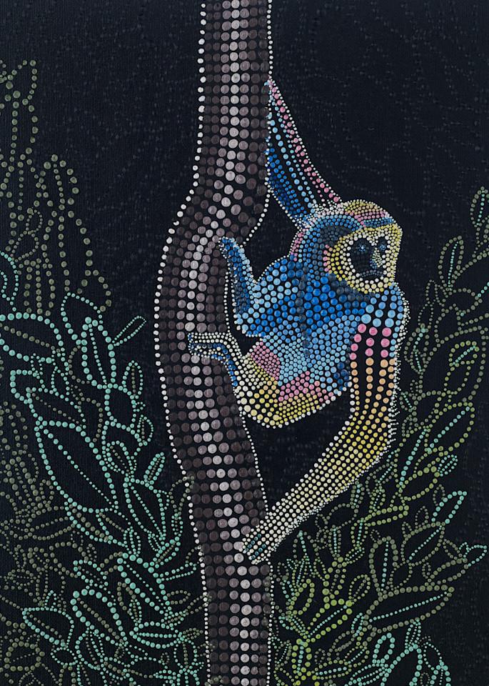 Endangered Gibbon Print