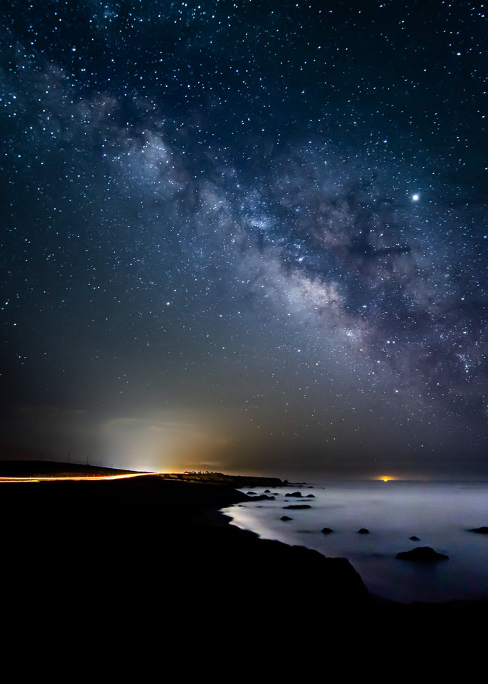 Coastal Milky Way - San Simeon, California