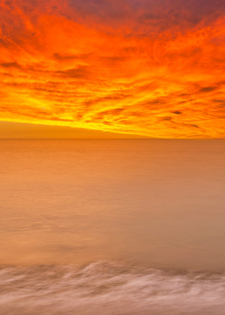 Colombia Orange Sky | Tropical Landscape Photography Print