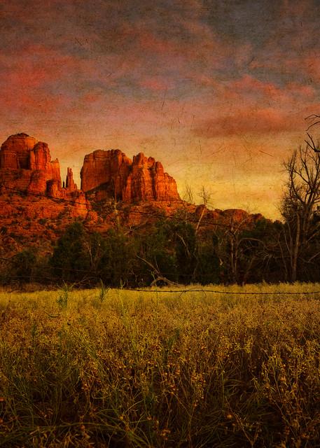 Sedona Dusk Photography Art | Doug Landreth Photography