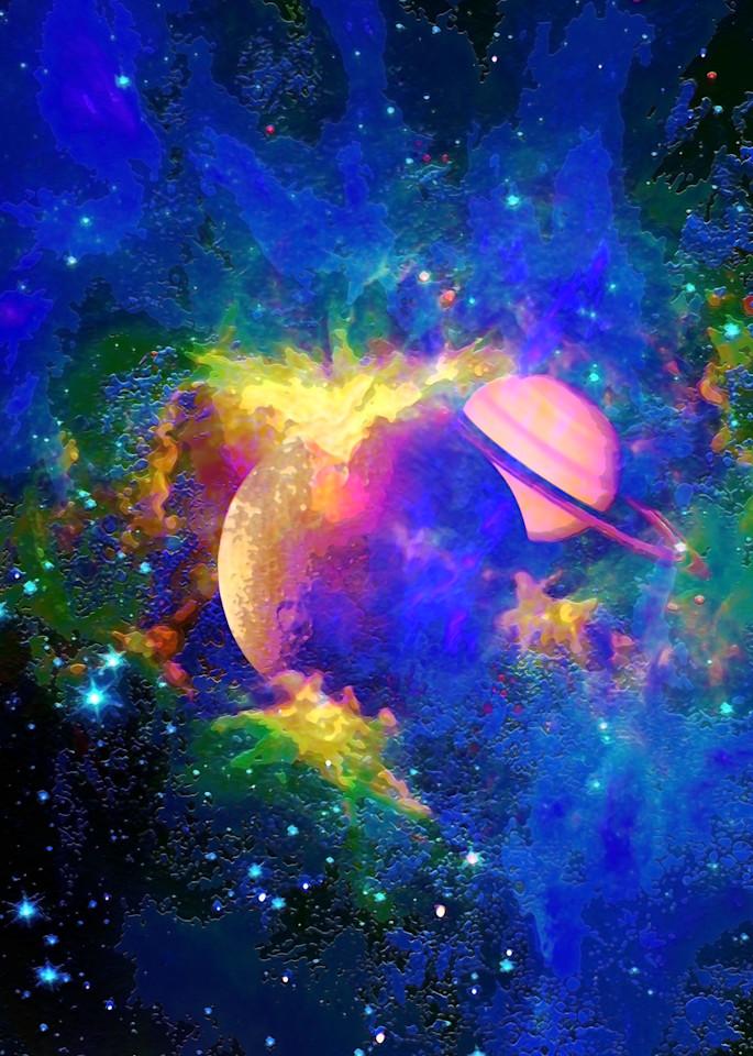 Space Fantasy Art - The Secret Life - Don White Art Dreamer