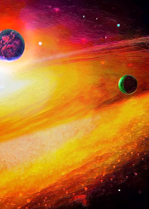 Space Fantasy Art - New Frontier - Don White Art Dreamer