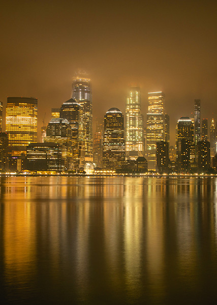 Rainy Night on the Hudson - Michael Sandy