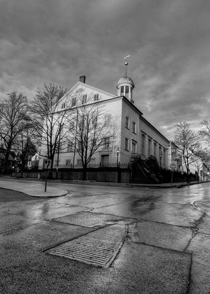 March 23, 2020 Bethlehem, PA (black and white) - Michael Sandy