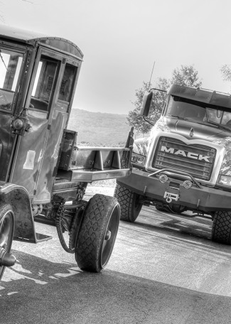 Forever Mack - Black and White -  Michael Sandy Photography
