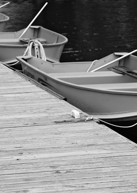 Three Boats II by Jeremy Simonson