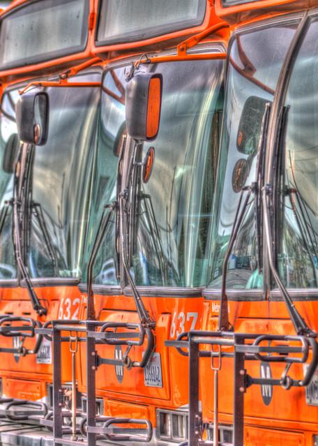 Buses Photography Art | Michael Scott Adams Photography