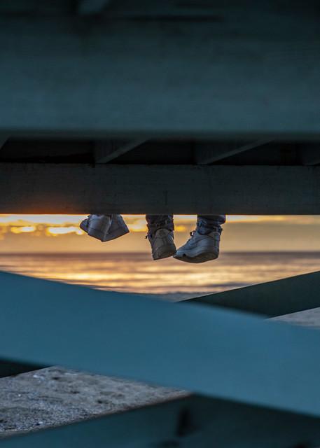 Dangling Feet Photography Art | Michael Scott Adams Photography