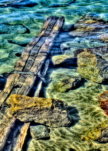 Underwater Beam Photography Art   Michael Scott Adams Photography