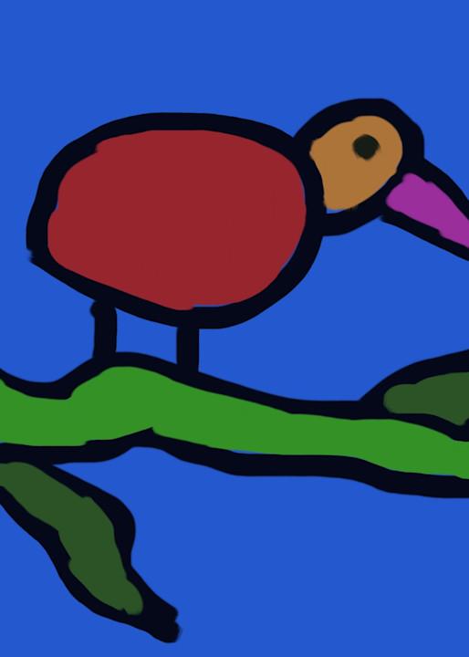 Bird Branch Art   stephengerstman