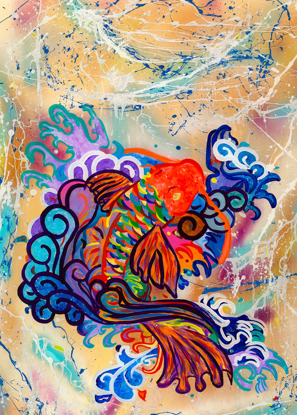 """Koi Dance"" Art 