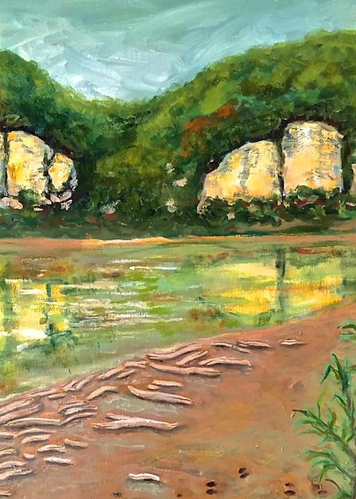 Missouri River Bluffs Art | Wild Ponies creations