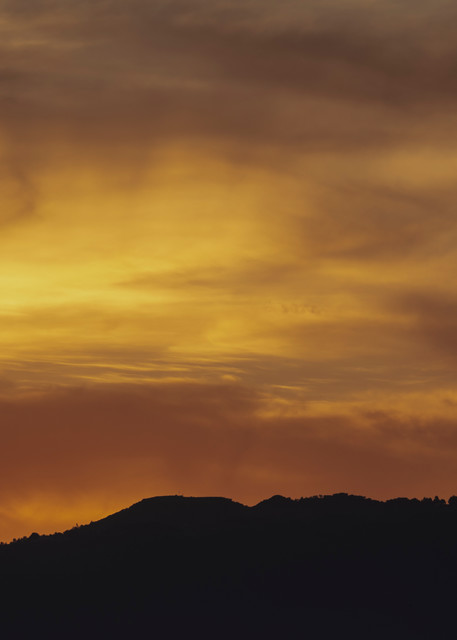 Smoky Sunset Photography Art   Michael Scott Adams Photography