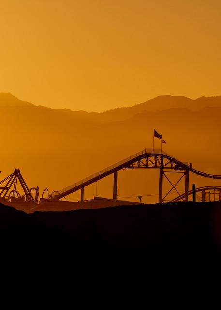 Pacific Park Silhouette Photography Art | Michael Scott Adams Photography