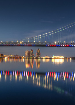 Ben Franklin Bridge - Michael Sandy Photography