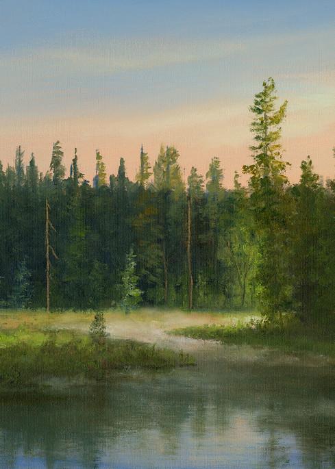 *Misty Morning At My Favorite Adk Marsh Art | Tarryl Fine Art