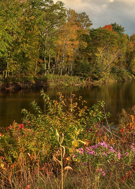 October on the Ausable - Michael Sandy Photography