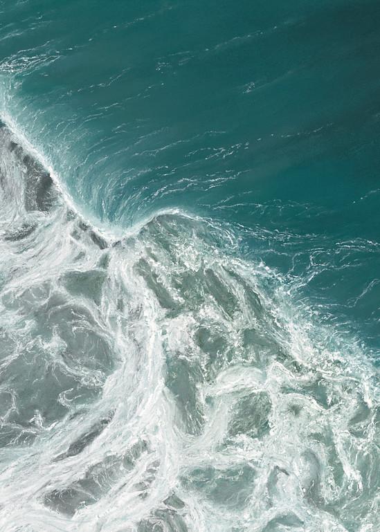 S.Gehring - Oregon Coast Wave Art - Breaking Down