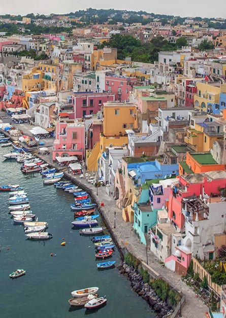 Marina di Corricella - Procida, Italy - Michael Sandy Photography