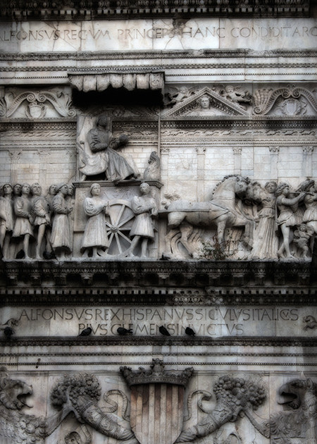 Castel Nuovo - Maschio Angioino - Naples - Michael Sandy Photography