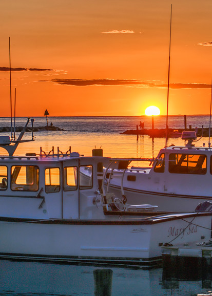 Menemsha Fishing Boat Sunset Art | Michael Blanchard Inspirational Photography - Crossroads Gallery