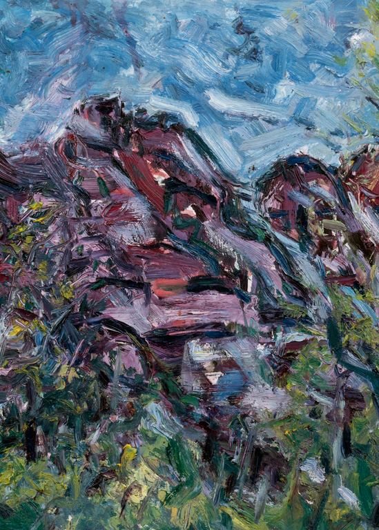 Red Stone, 2018 Art | Daniel Kanow Fine Art