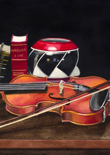 Amadeus Art | Gary Curtis Watercolors