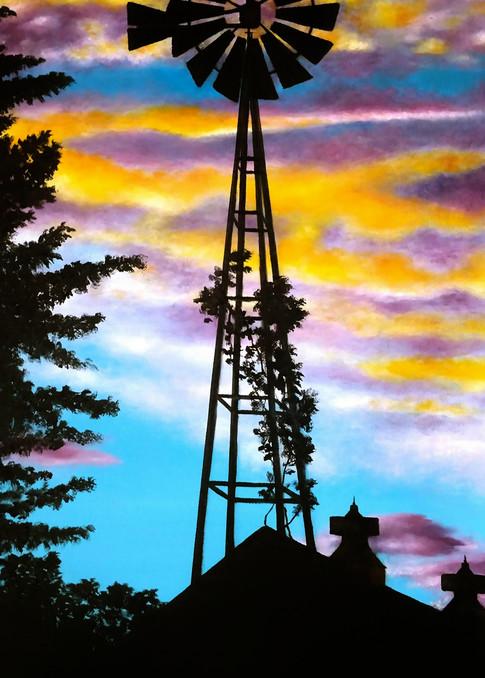 Iowa Sunset by Ashley Koebrick Schmidt