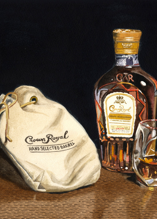 Crown Royal Art | Gary Curtis Watercolors
