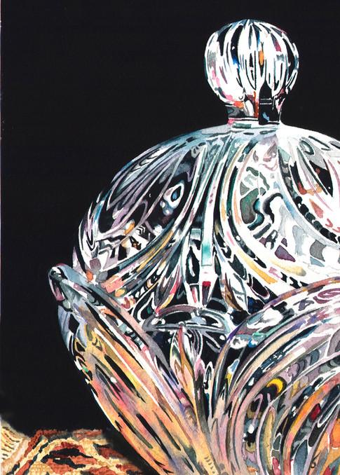 Cut Crystal Art | Gary Curtis Watercolors