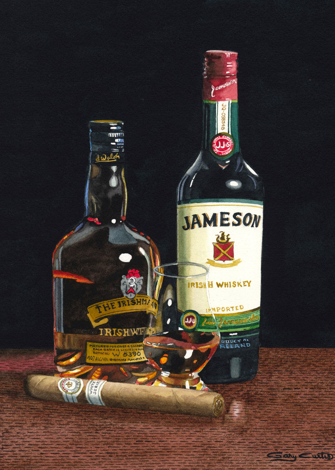 Juice Of The Barley Art | Gary Curtis Watercolors