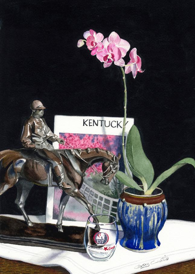 Kentucky Oaks Art | Gary Curtis Watercolors