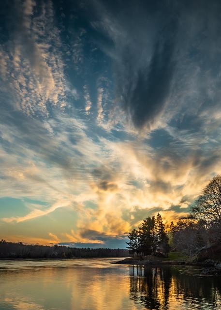 Taunton Bay Sunset Photography Art | Monteux Gallery