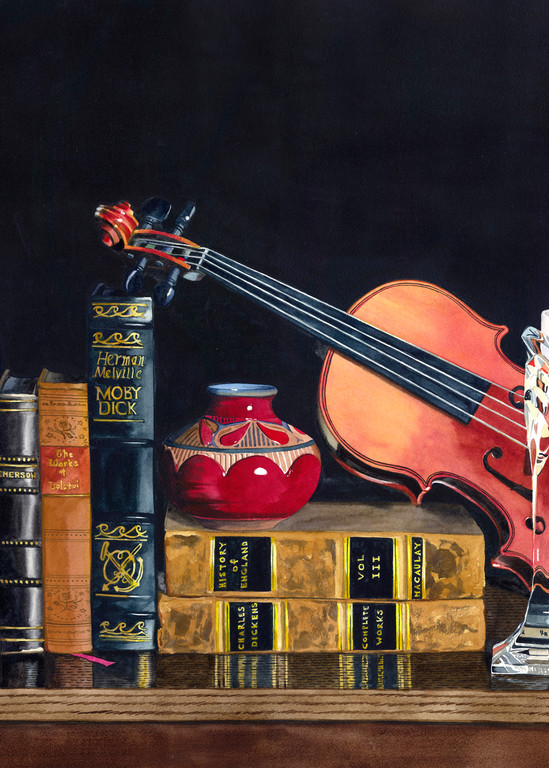 Music By Candlelight Art | Gary Curtis Watercolors