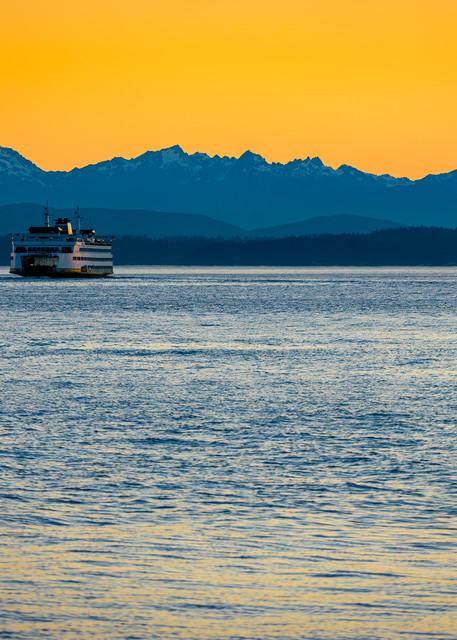 Puget Sound Ferry, Seattle, Washington