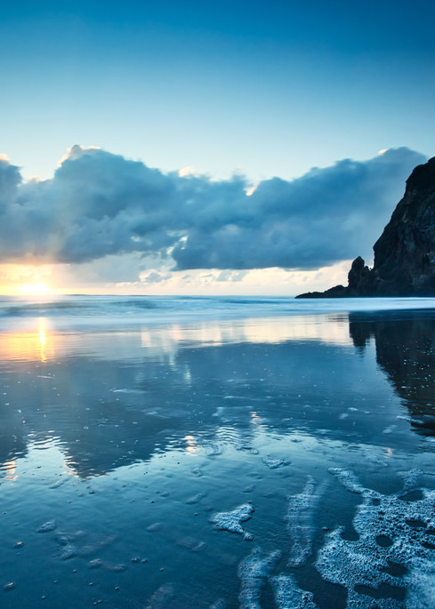 Piha Reflection Art | Chad Wanstreet Inc