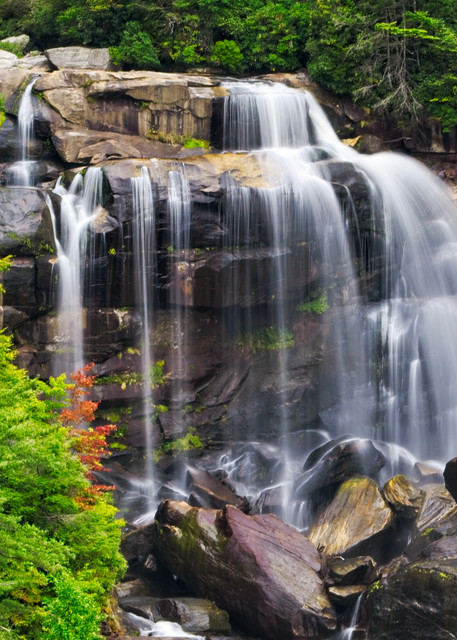 Whitewater Falls II - A Fine Art Photograph by Marcos R. Quintana