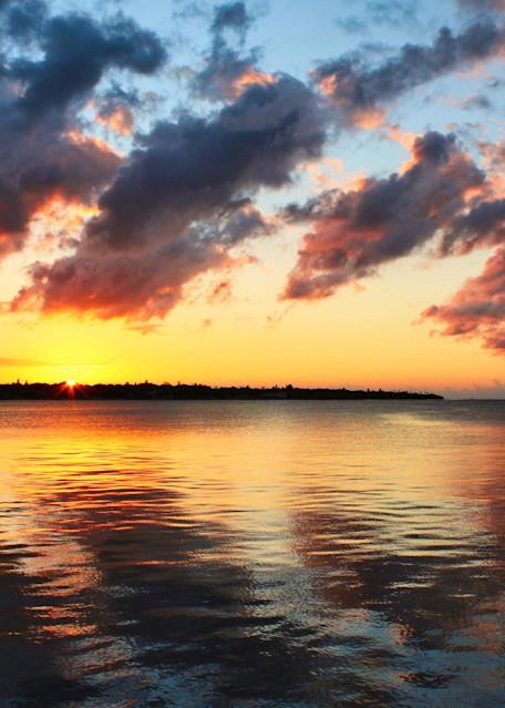 Sunrise Reflection Photography Art | CJ Harding