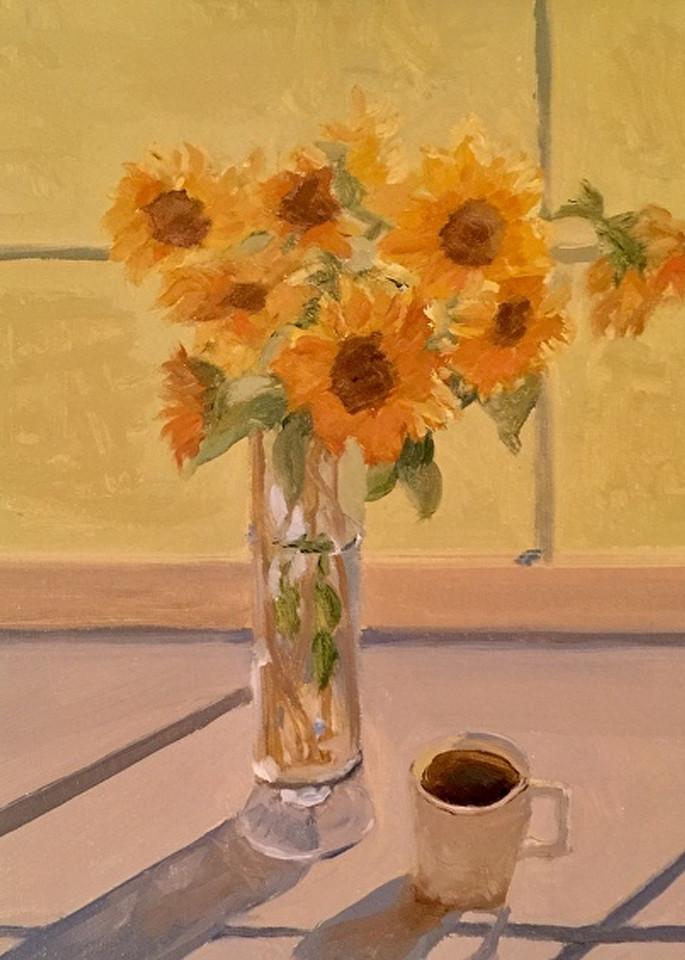 Morning Sunflowers  Art | Scott Dyer Fine Art