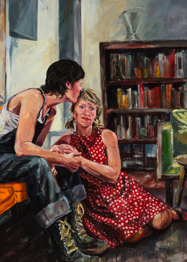 Love Is Everything They Said It Would Be Art   Joan Cox Art