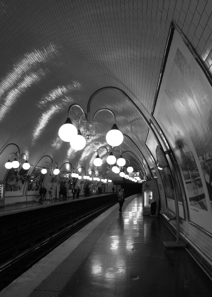 Cite Metro, Paris #1 Photography Art | Photoissimo - Fine Art Photography