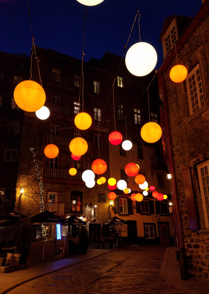 Floating Light In Old Quebec City Photography Art | Photoissimo - Fine Art Photography