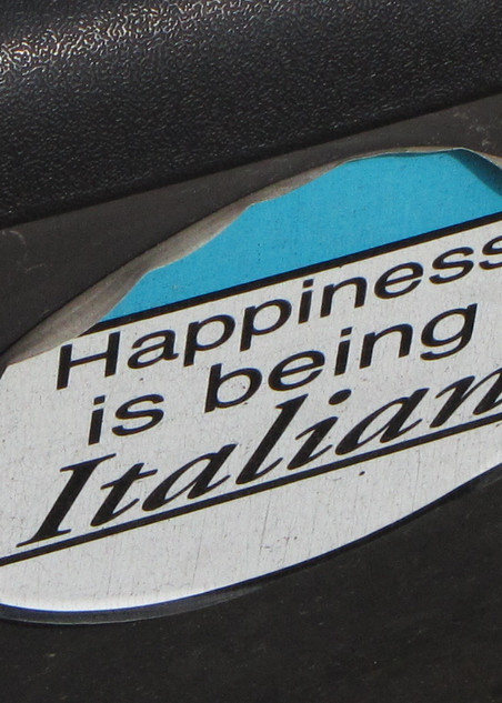 Happiness Is Being Italian Photography Art | Photoissimo - Fine Art Photography