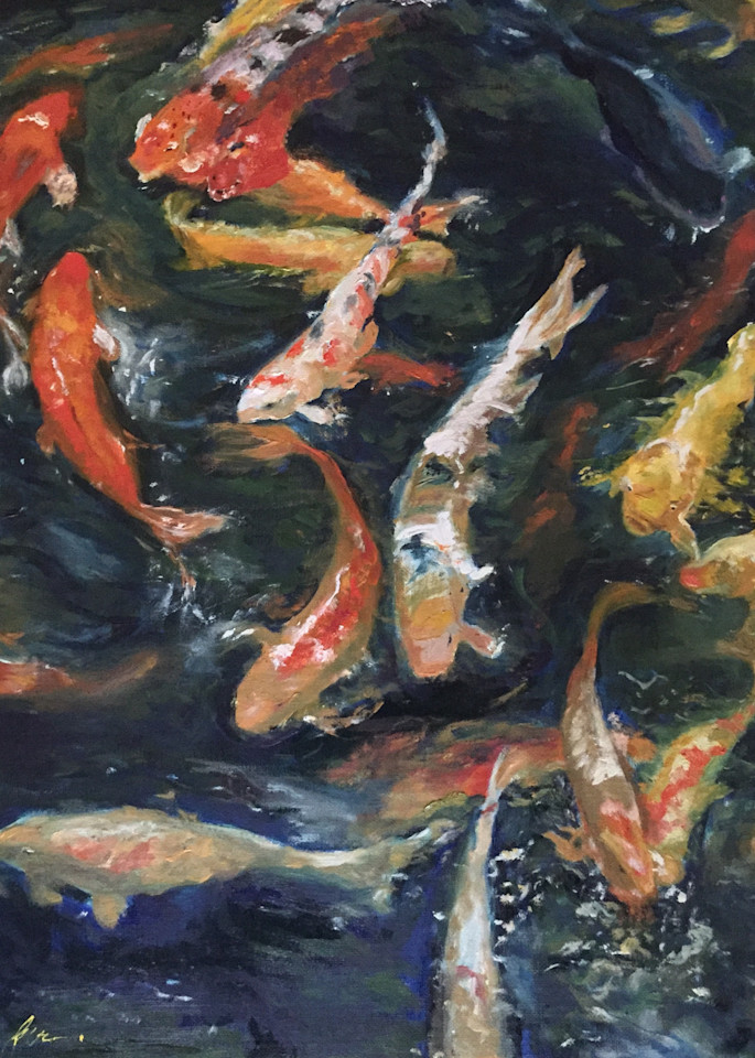 Koi Energy Art | Scott Dyer Fine Art